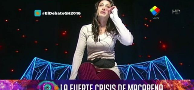 Macarena atraviesa una crisis frente a sus compañeros