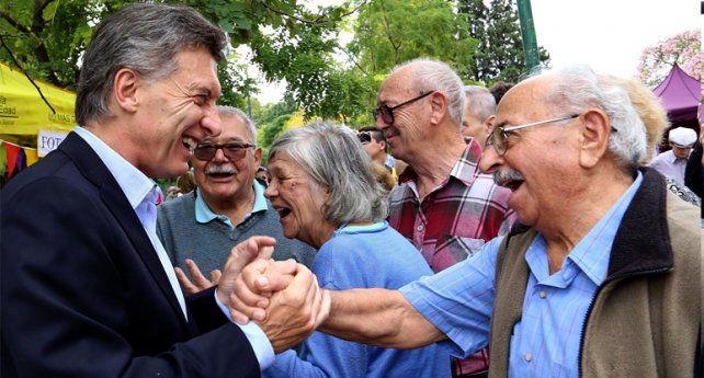 El presidente Macri insistió en la necesidad de aprobar el proyecto para jubilados lo antes posible.