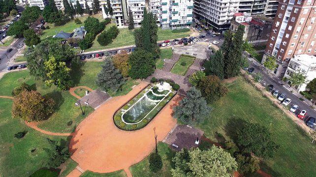 Parques. Propician el cuidado del medio ambiente.