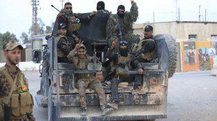 Al frente. Ayer llegaron al cerco de Faluya tropas especiales enviadas por Bagdad.