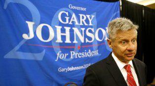 libertario. Gary Johnson será proclamado candidato del partido.