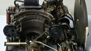 Pensaron que era una máquina de telegrama y subastaron una máquina de cifrado de la Segunda Guerra Mundial