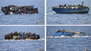 Desastre. El famoso naufragio de una barca el 25 de mayo. Por suerte