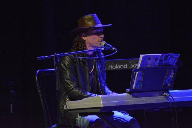 El cantautor Alejandro Lopíccolo.