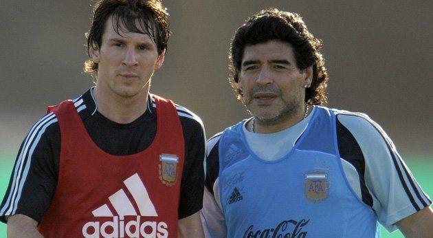 Leo y Maradona jugarán por la paz