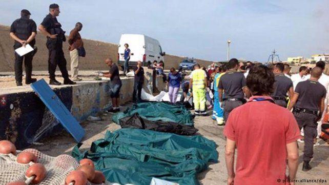 La tragedia de Lampedusa ocurrió en 2013.