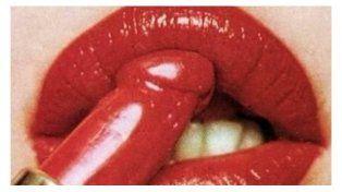 El lápiz labial con forma de pene es la nueva tendencia en el mundo del make up