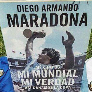 Mi Mundial, mi verdad, el libro de Maradona que cuenta la intimidad del triunfo en México 1986.