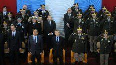 El presidente de la Nación, Mauricio Macri, asistió al acto de conmemoración del 206º aniversario de la creación del Ejército Argentino.