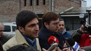 Tras los operativos. El ministro de Seguridad felicitó a las fuerzas por los procedimientos en Casilda y la zona.