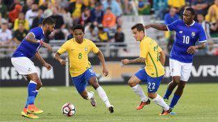 Derrota. Brasil ganó 2 a 0.