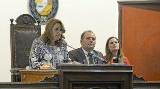 La intendenta cuestionó al PRO por las críticas en materia de seguridad.