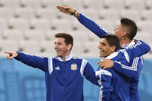 Augusto Fernández dijo sobre Messi que es el mejor y lo necesitamos.