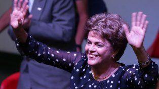 Defensa. Rousseff cuestionó el escándalo en el gabinete de Temer.