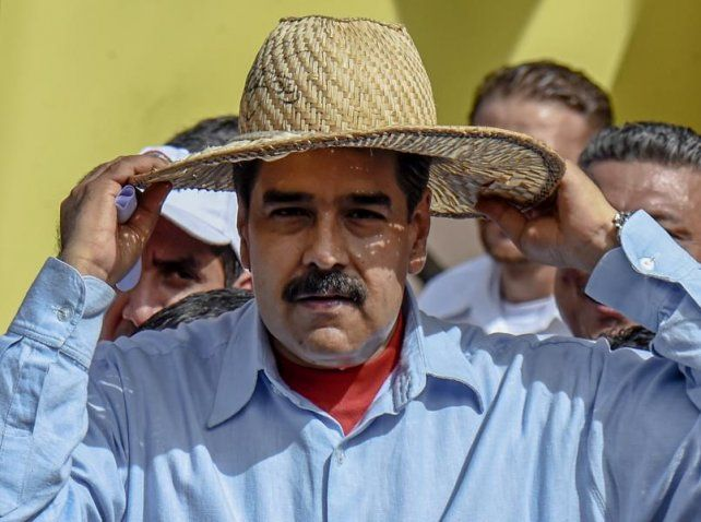 De punta. Maduro increpó al secretario general de la OEA por llamar a debatir la situación política venezolana.