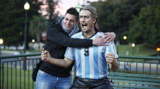 Una estatua de Bati en Buenos Aires.