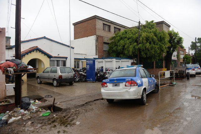 Los acusados por el crimen fueron alojados en la seccional 20ª de Empalme Graneros.