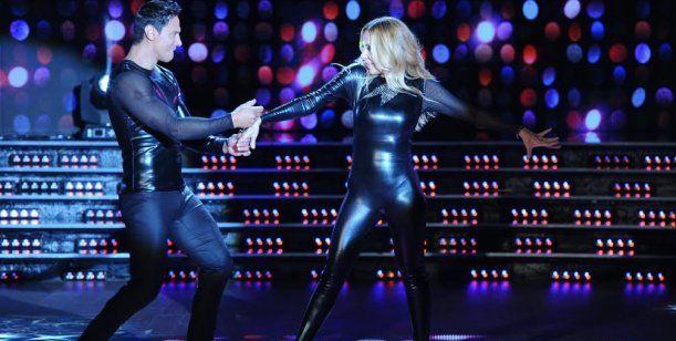 Marta Sánchez cantó, derrochó sensualidad y bailó sexy en su debut en el Bailando
