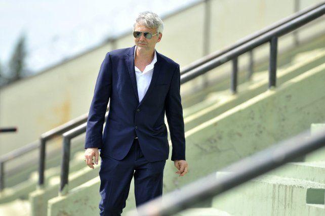 Ricardo Carloni dijo que Central intentará que Lo Celso se quede como mínimo hasta fin de año.
