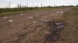 El lugar donde fue encontrado el cuerpo deMario Sebastián Vizconti.