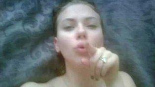 Las fotos íntimas de la actriz Scarlett Johanson.