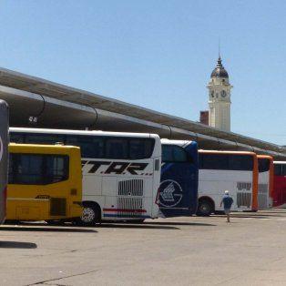 La actividad en la terminal de omnibus de Rosario será normal este fin de semana.