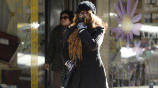 El invierno se aproxima y sobre Rosario ya registran temperaturas gélidas.
