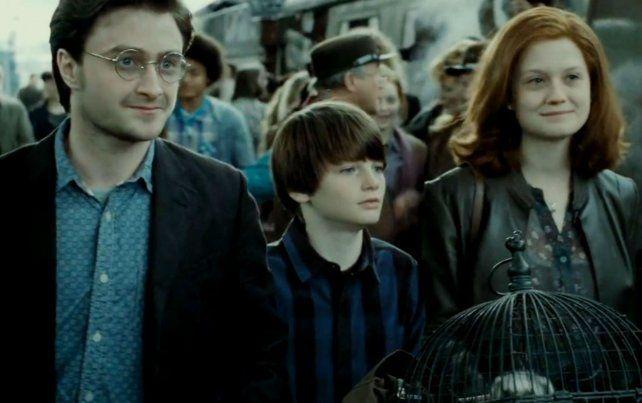 En una de las últimas escenas de las películas de Harry Potter