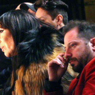 Moria y Ottavis fueron fotografiados sentados juntos en el teatro.