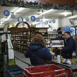 El supermercado ubicado en San Luis al 2300.