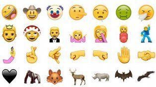 Mirá como serán los 72 nuevos emojis que en pocos días estarán disponibles en Whatsapp
