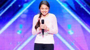 Con solo 13 años sorprende con su voz de soprano al jurado de Americas Got Talent