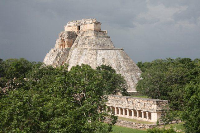 Las ruinas de Uxmal