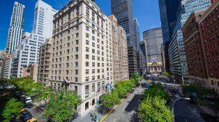 Todo cerca. El viejo edificio donde funcionará el hotel céntrico data de 1928.
