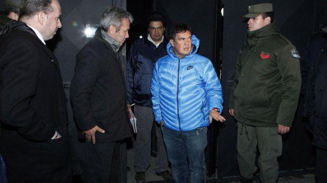 en el sur. Guillermo Marijuan encabezó allanamientos en Santa Cruz.