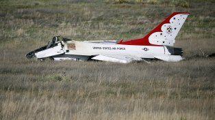 trágico. Estado en que quedó la aeronave que piloteaba el malogrado piloto.