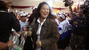 Imparable. La China lidera las encuestas para la segunda vuelta electoral.