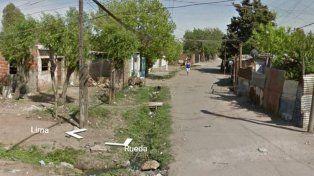 lima y rueda. La zona donde se encuentra el pasillo dentro del cual ultrajaron y mataron a Guadalupe Medina.