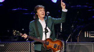 Rosario había sido nombrada para recibir los recitales de Paul McCartney