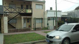 Portón abierto. Así encontró Juan Andrés su casa la noche del viernes.