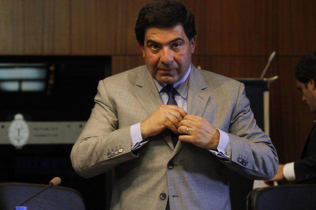 En caída. Las acusaciones de Carrió impactaron judicialmente en Echegaray.