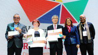 La intendenta Mónica Fein destacó el trabajo de intercambio realizado en los cuatro días del Encuentro.