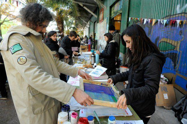 Juntos. El Almacén de las Tres Ecologías convocó a activistas y vecinos.