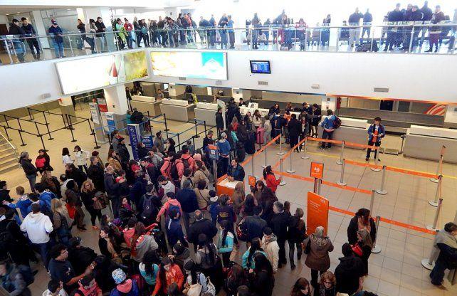 ampliación. El proyecto incluye la ampliación de las instalaciones para recepción los vuelos internacionales.