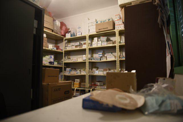 El dispensario se encuentra en Génova al 7200.