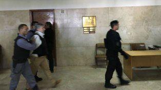 Esta mañana Lázaro Báez fue llevado a declarar a los Tribunales.