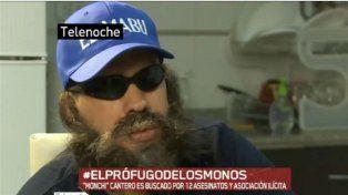 Monchi Cantero fue detenido hoy en Buenos Aires.