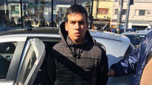 Monchi Cantero fue detenido hoy en un operativo de la Policía Federal en la ciudad de Buenos Aires.