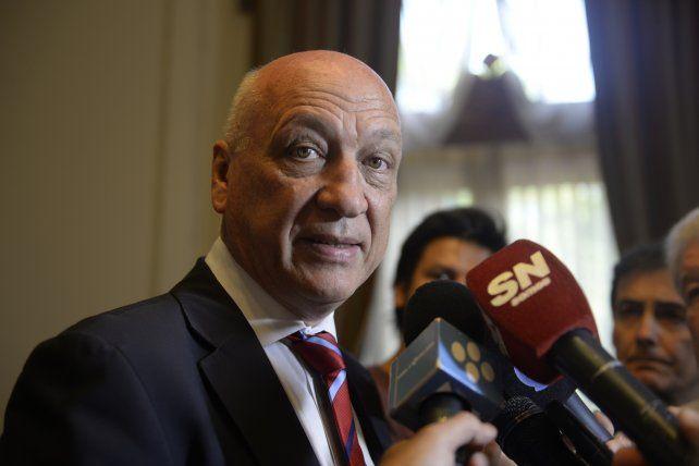 Bonfatti aseguró que la inseguridad se combate con un plan de inteligencia entre Nación, provincia y municipio