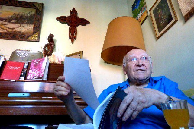 El obispo metodista Federico Pagura se confesó en la última entrevista que le concedió a La Capital.